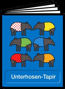 Unterhosen -Tapir - Quizmaker Quiz von Angela Hallbauer zum Buch von Annette Kitzinger